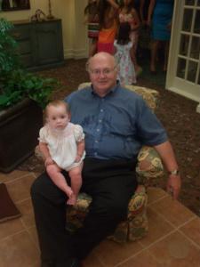 My dad and baby Rilla